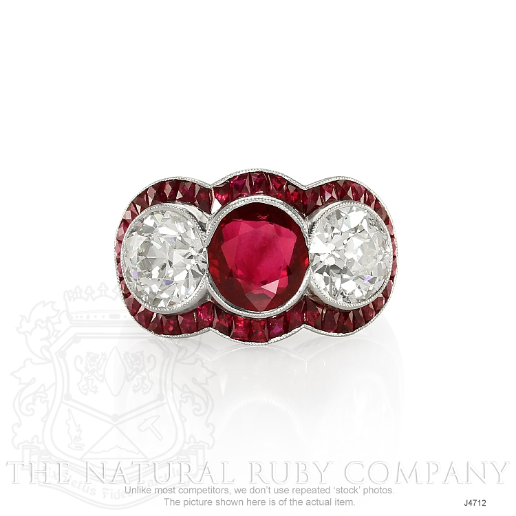 2.80ct Ruby Ring Image