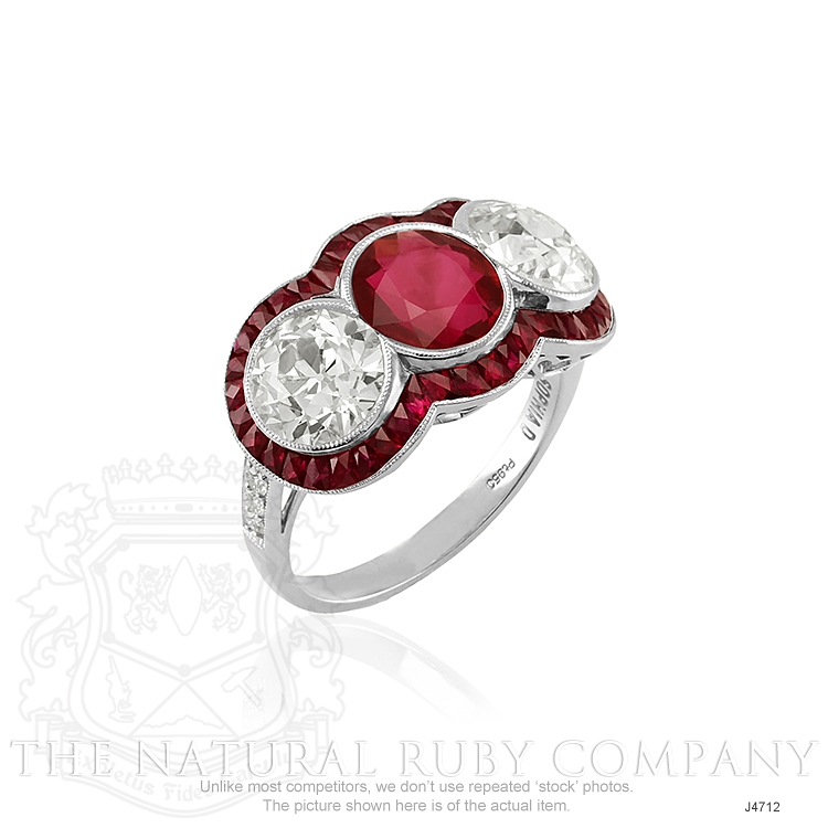 2.80ct Ruby Ring Image 2