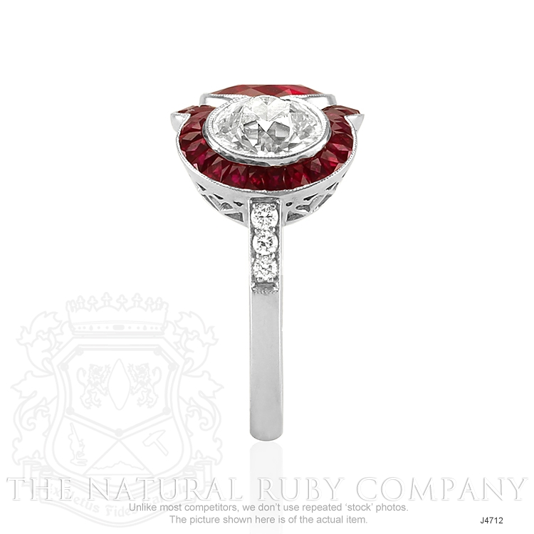 2.80ct Ruby Ring Image 3