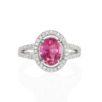 1.55ct Pink Sapphire Ring - J4721