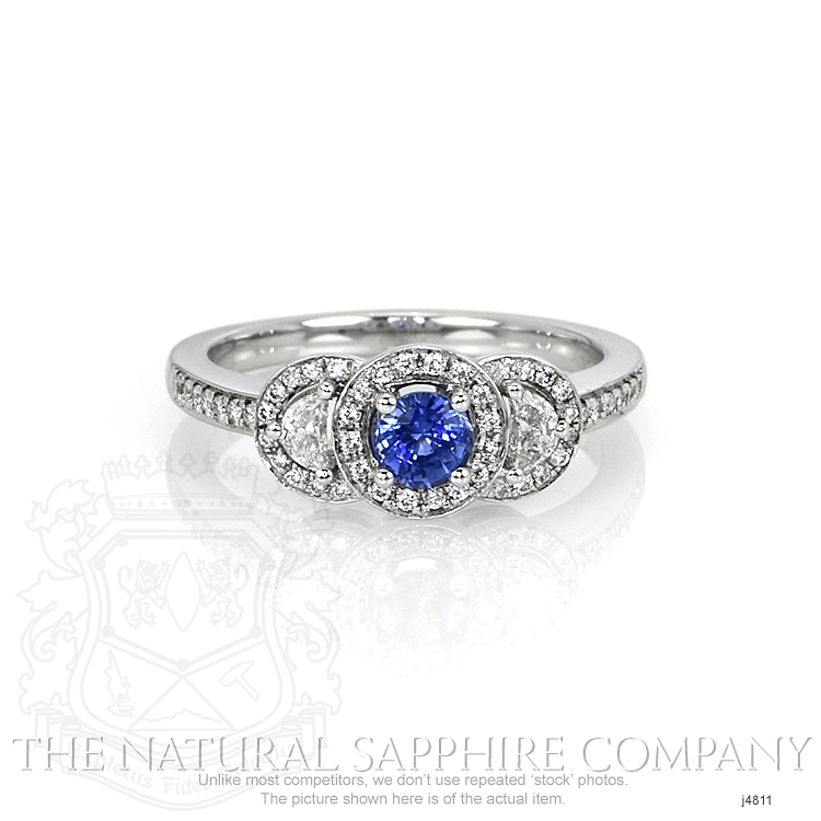 0.37ct Blue Sapphire Ring Image
