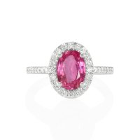 1.71ct Pink Sapphire Ring - J4920