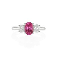 1.27ct Pink Sapphire Ring - J5111