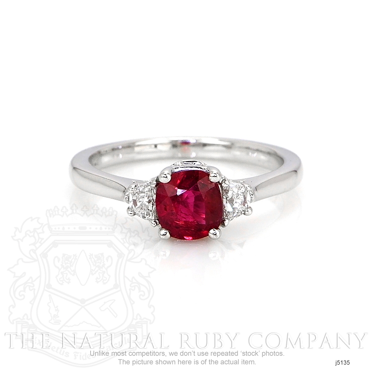 0.85ct Ruby Ring Image