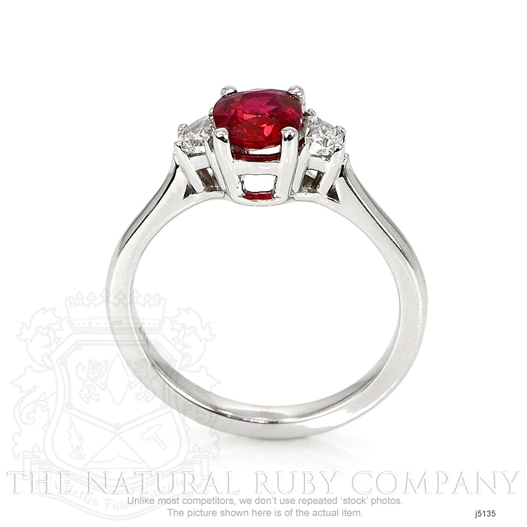 0.85ct Ruby Ring Image 4
