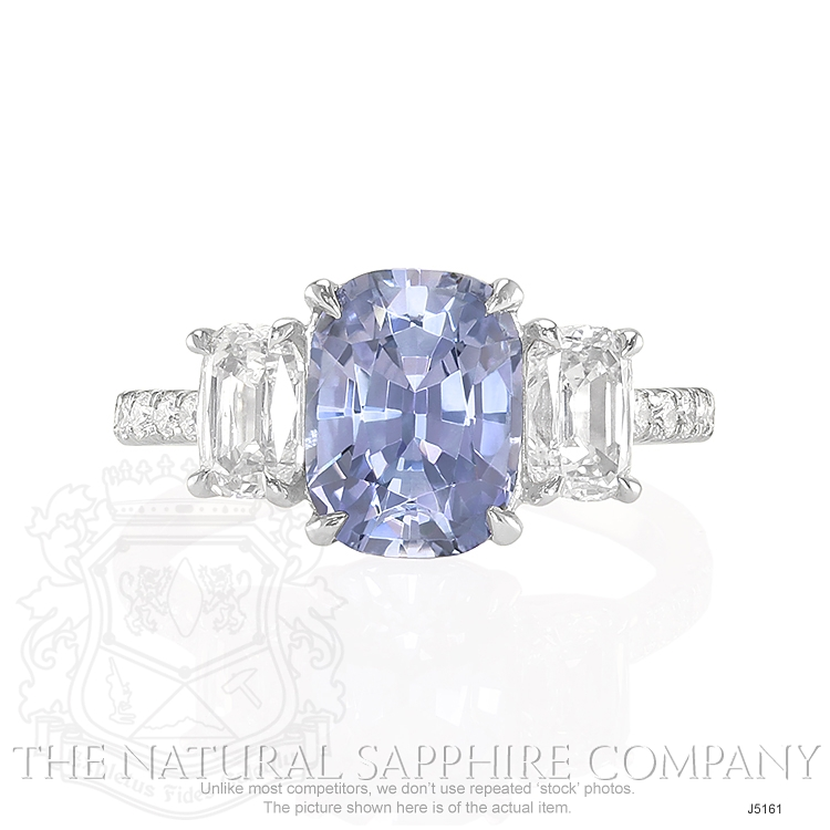 2.79ct Violet Sapphire Ring Image