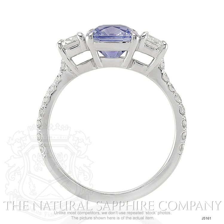 2.79ct Violet Sapphire Ring Image 4