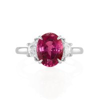 4.08ct Pink Sapphire Ring - J5163