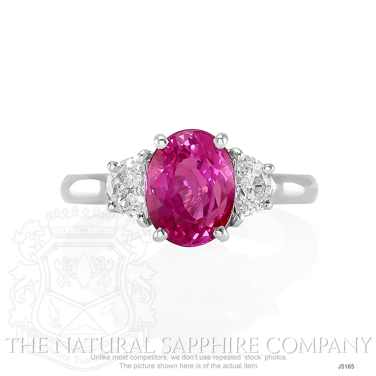 2.85ct Pink Sapphire Ring Image