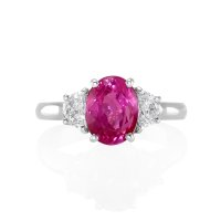 2.85ct Pink Sapphire Ring - J5165