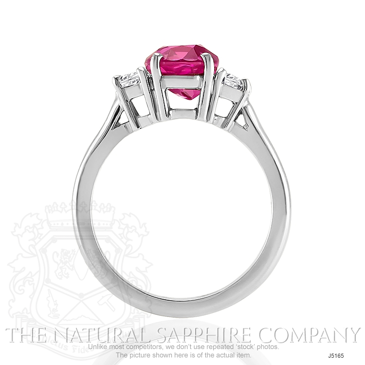 2.85ct Pink Sapphire Ring Image 4