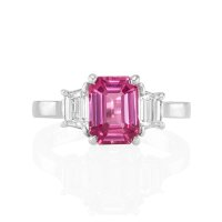2.12ct Pink Sapphire Ring - J5166