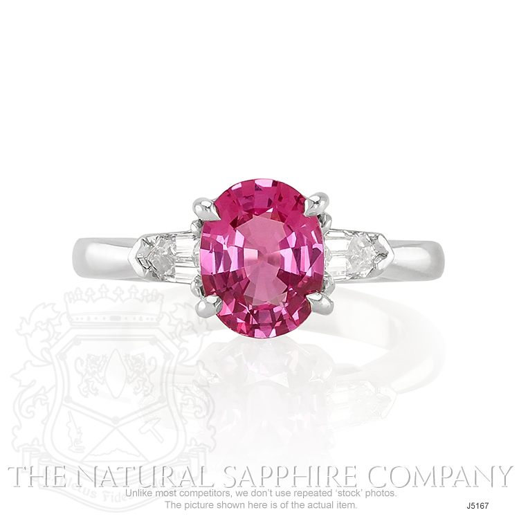 2.05ct Pink Sapphire Ring Image