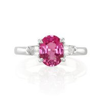 2.05ct Pink Sapphire Ring - J5167