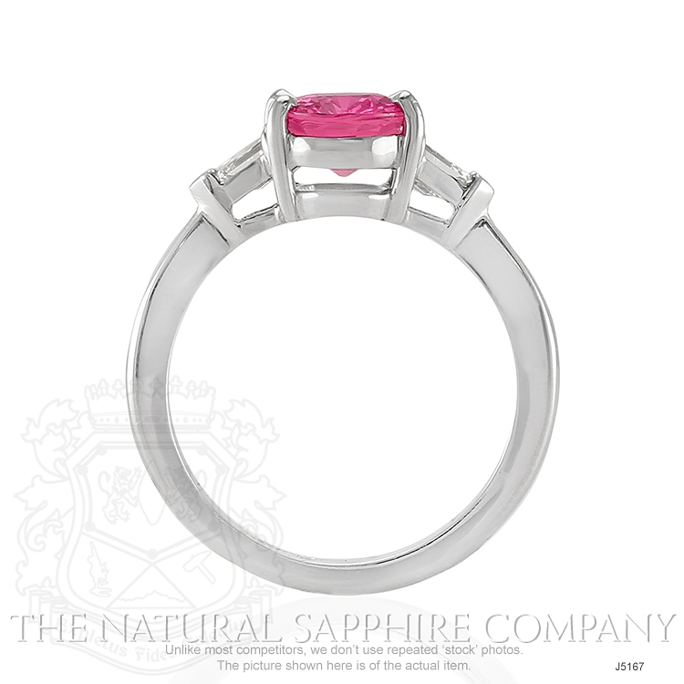 2.05ct Pink Sapphire Ring Image 4