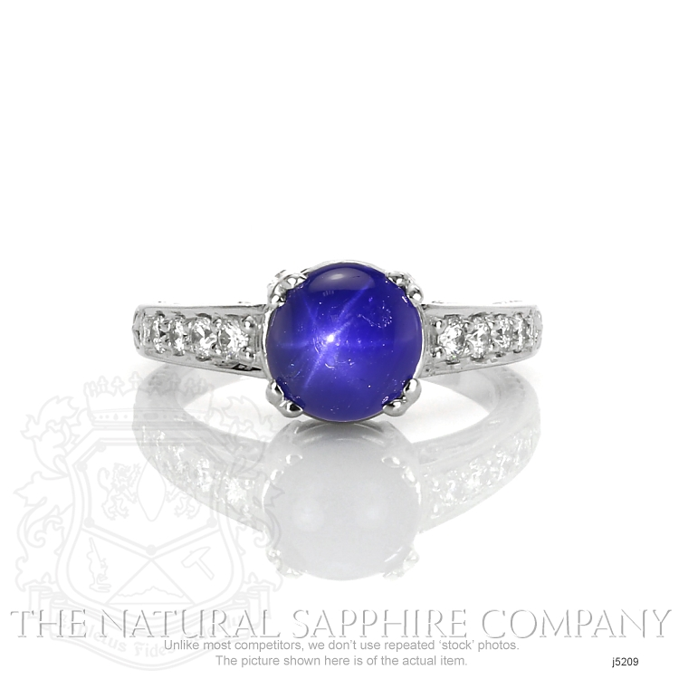 3.07ct Blue Sapphire Ring Image