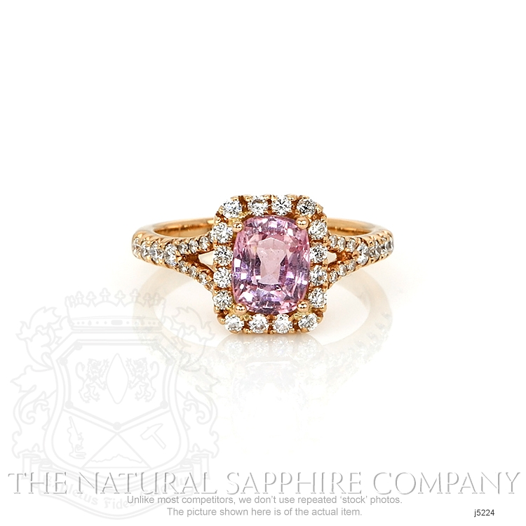 1.78ct Pink Sapphire Ring Image