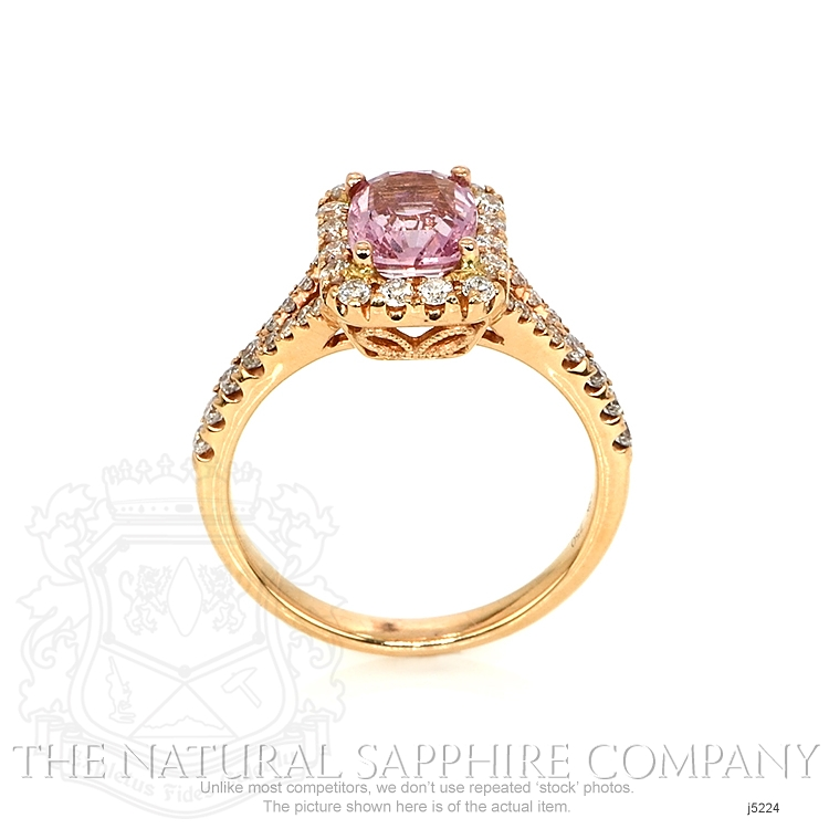 1.78ct Pink Sapphire Ring Image 4