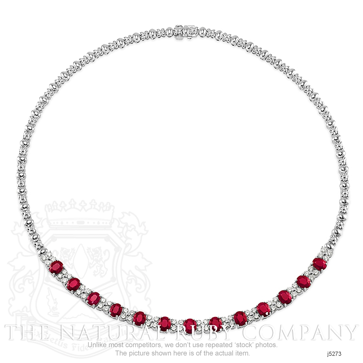10.72ct Ruby Necklace Image