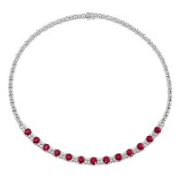 10.72ct Ruby Necklace - J5273