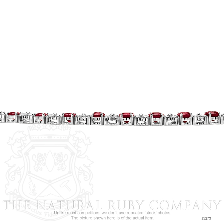 10.72ct Ruby Necklace Image 3