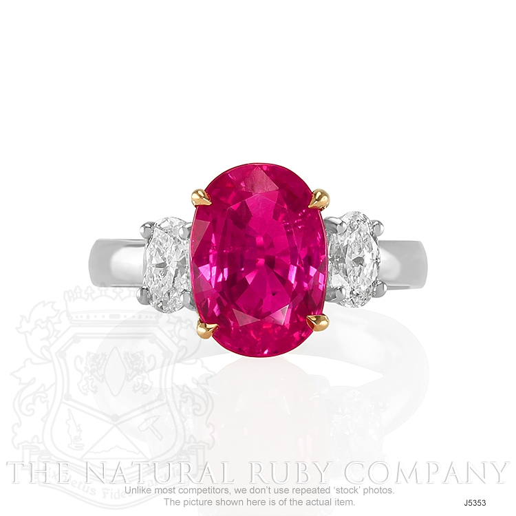 5.30ct Ruby Ring Image