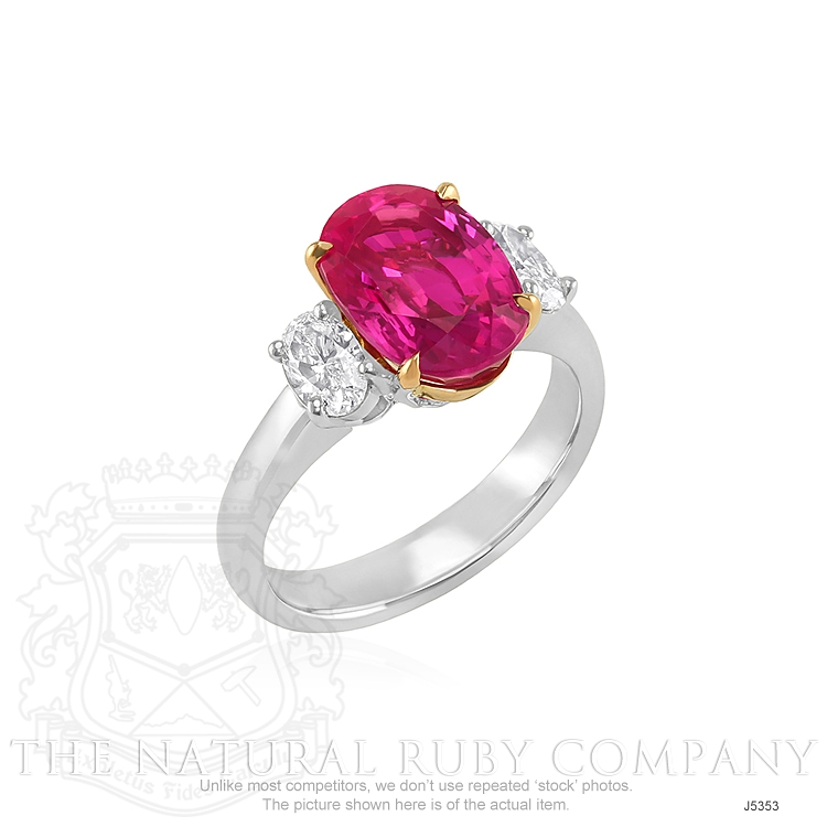 5.30ct Ruby Ring Image 2