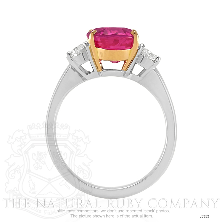 5.30ct Ruby Ring Image 4