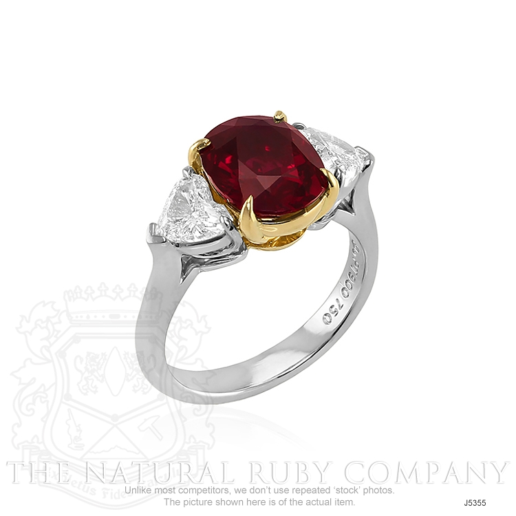 3.31ct Ruby Ring Image 2