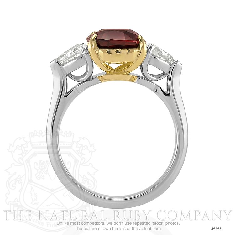 3.31ct Ruby Ring Image 4