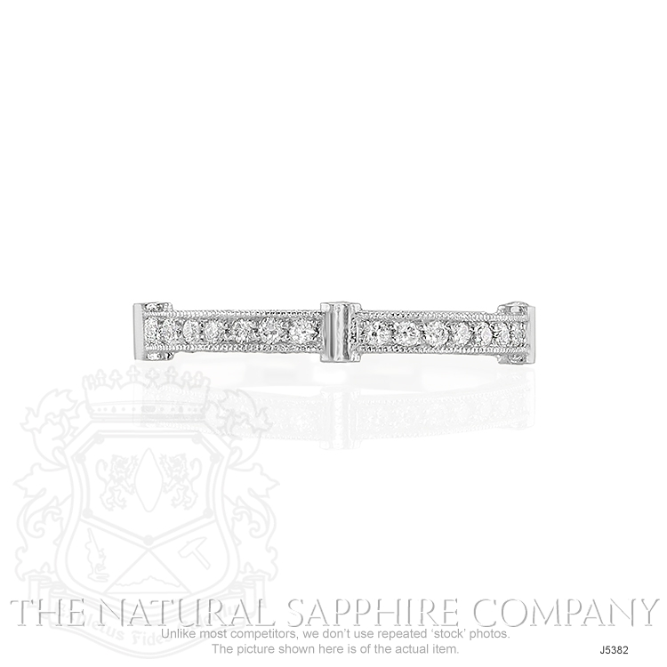 0.40ct White Diamond Band Image
