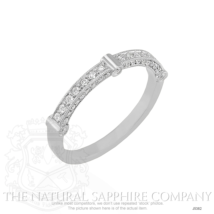 0.40ct White Diamond Band Image 2