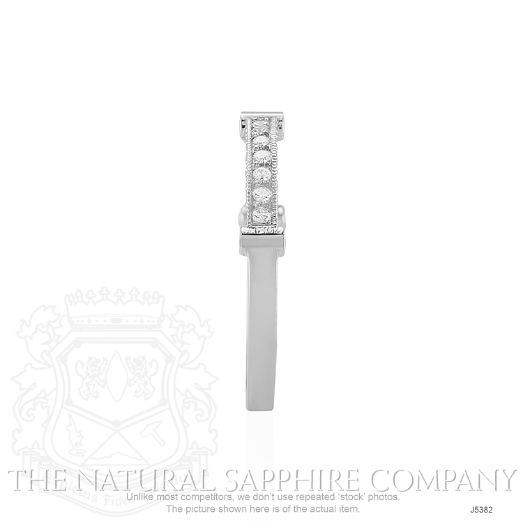 0.40ct White Diamond Band Image 3