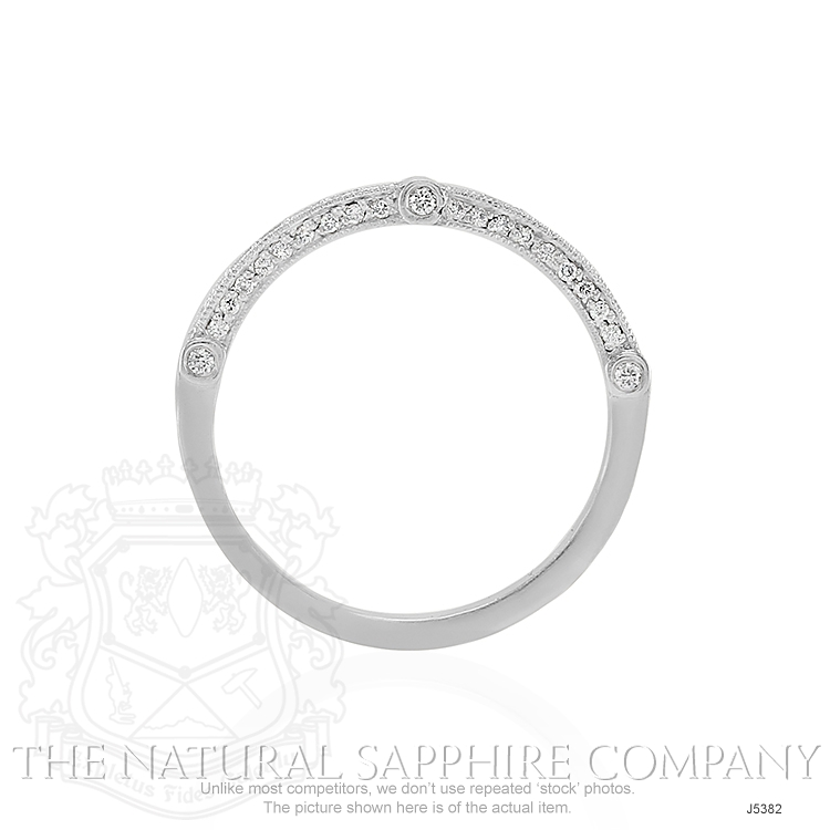 0.40ct White Diamond Band Image 4