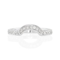 0.40ct White Diamond Band - J5383