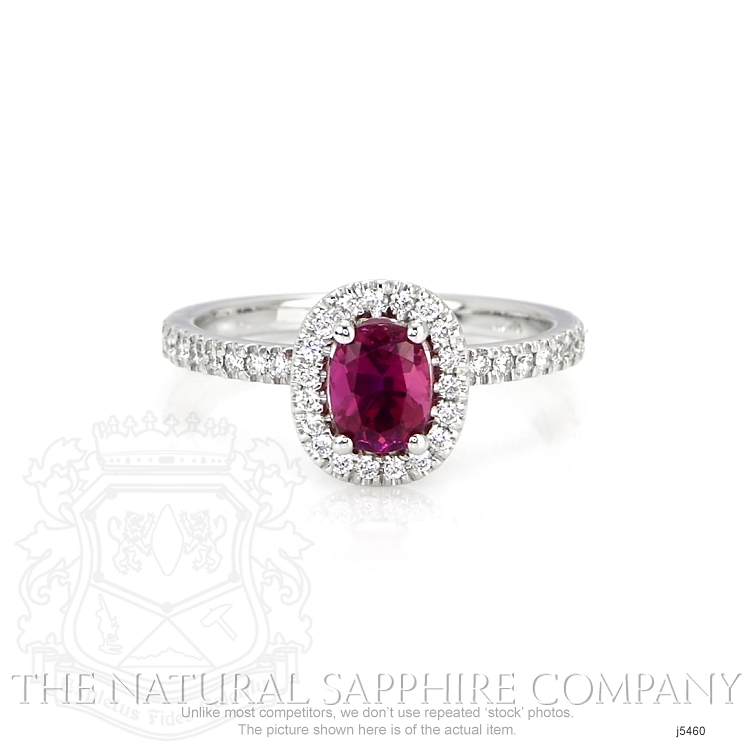 0.95ct Pink Sapphire Ring Image