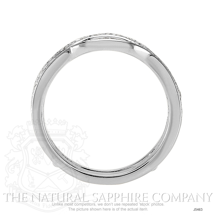 0.30ct White Diamond Band Image 4