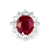 6.79ct Ruby Ring - J5598