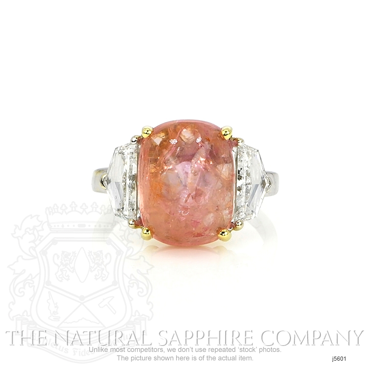 7.60ct Padparadscha Sapphire Ring Image