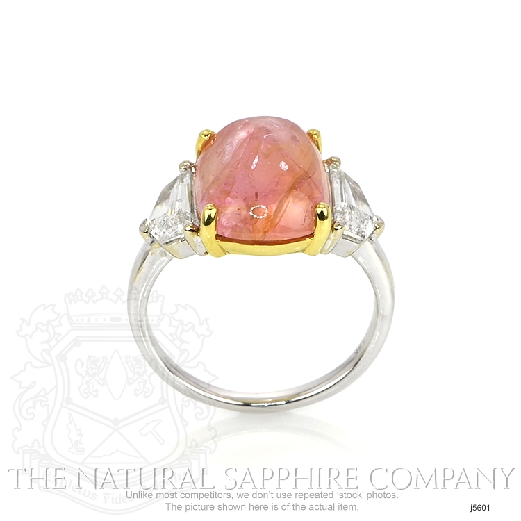 7.60ct Padparadscha Sapphire Ring Image 4