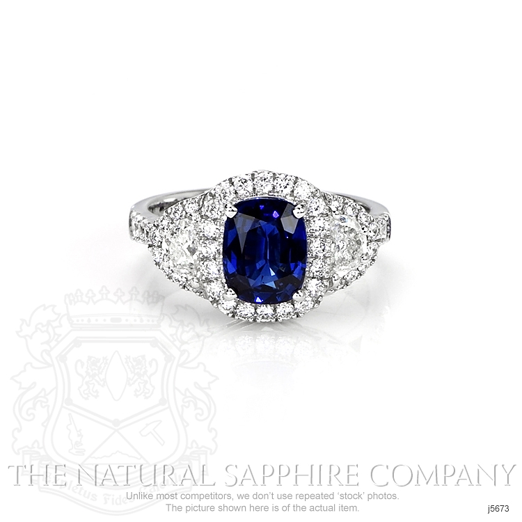 2.05ct Blue Sapphire Ring Image