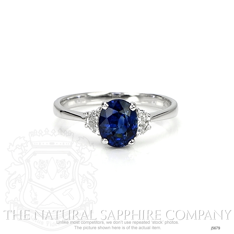 1.67ct Blue Sapphire Ring Image
