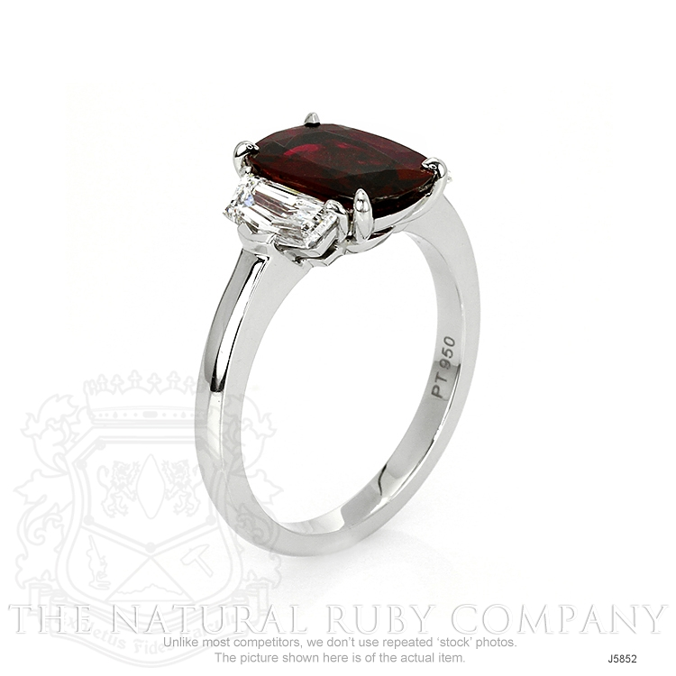 2.22ct Ruby Ring Image 2