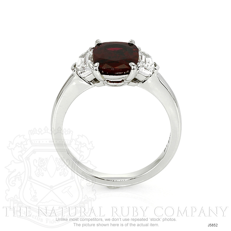 2.22ct Ruby Ring Image 4
