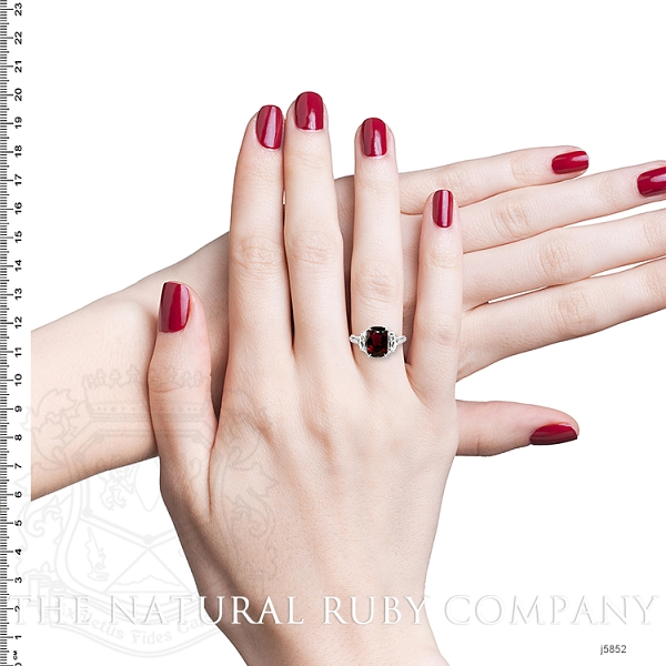 2.22ct Ruby Ring Image 5