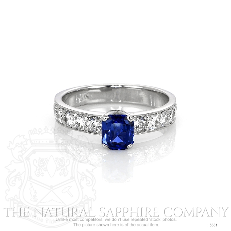 0.94ct Blue Sapphire Ring Image