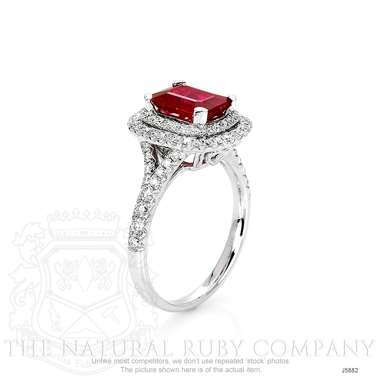1.35ct Ruby Ring Image 2