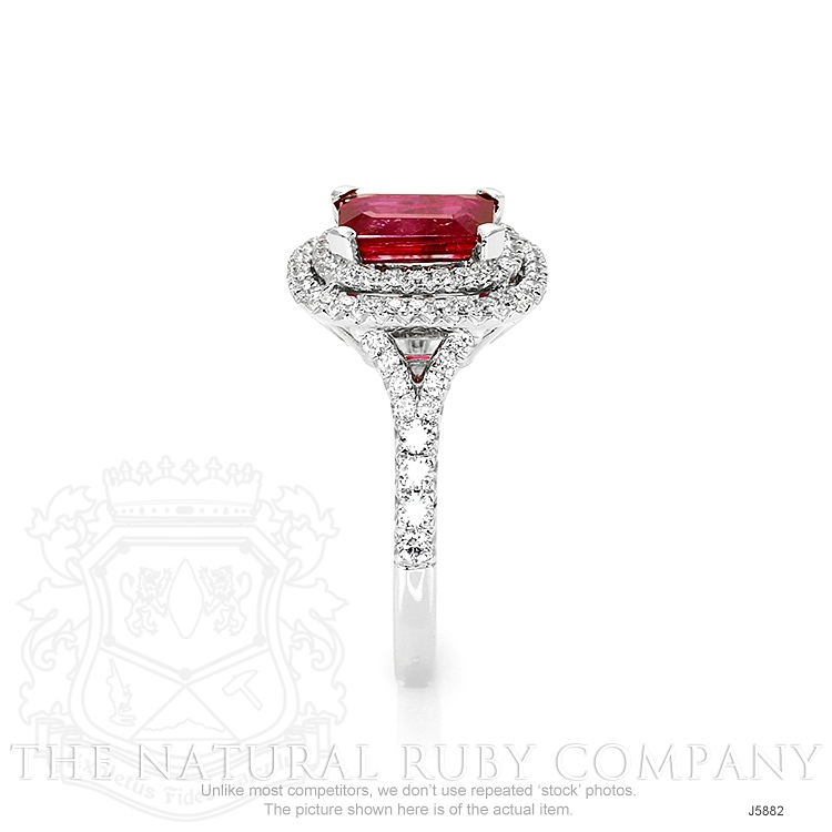 1.35ct Ruby Ring Image 3