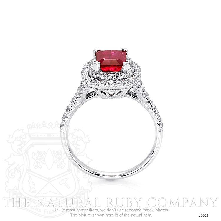 1.35ct Ruby Ring Image 4