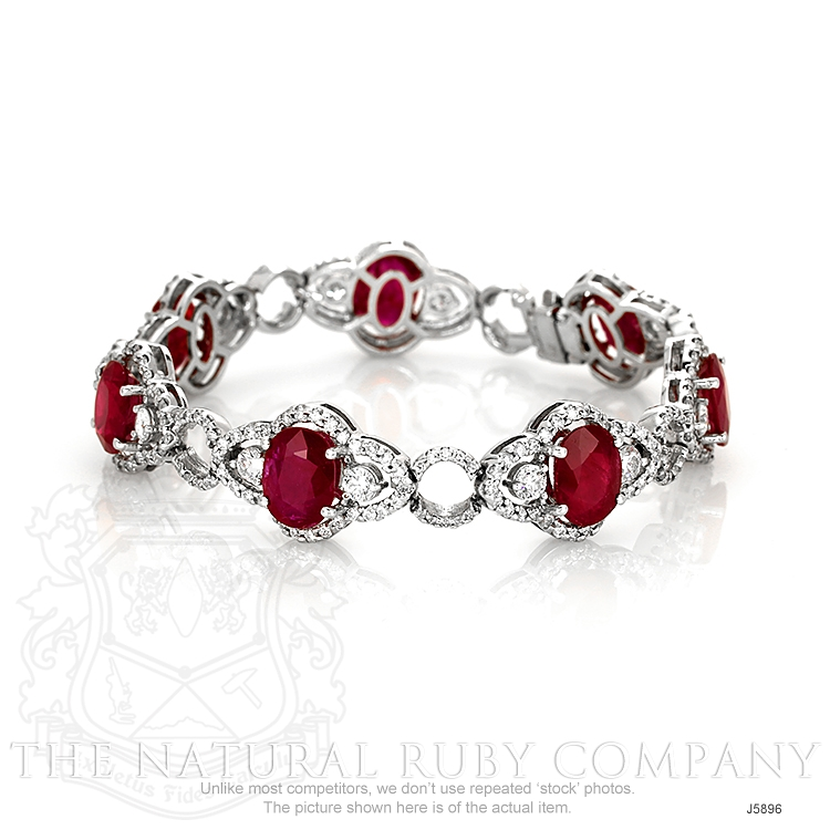 16.10ct Ruby Bracelet Image